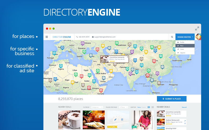 DirectoryEngine Business Directory Software Website Builder