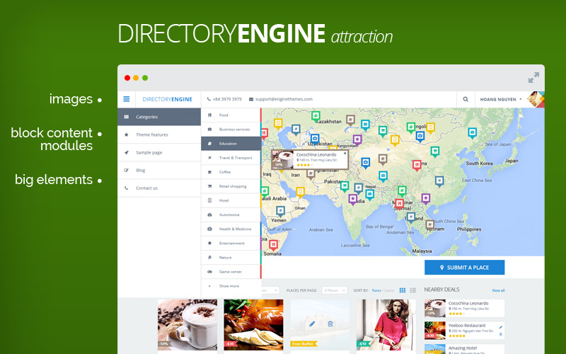 Business Directory WordPress Theme Preview