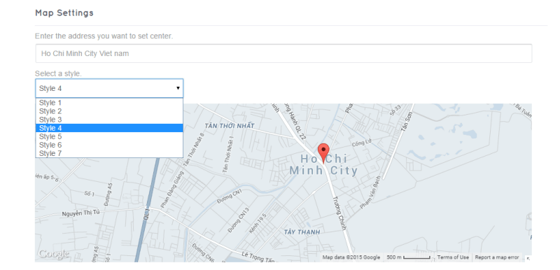 map style - DirectoryEngine