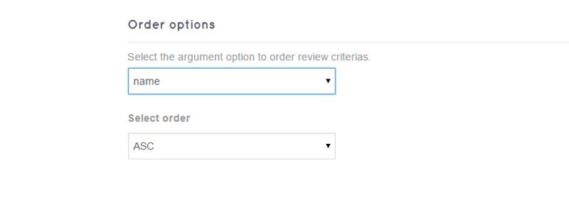 order options - DE Multirating