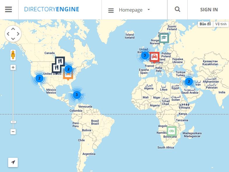menu - DirectoryEngine