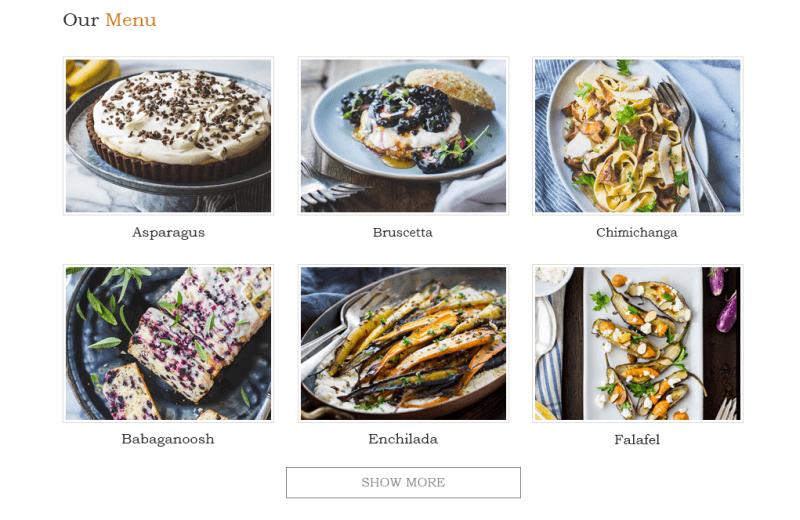 blog menu - DiningEngine