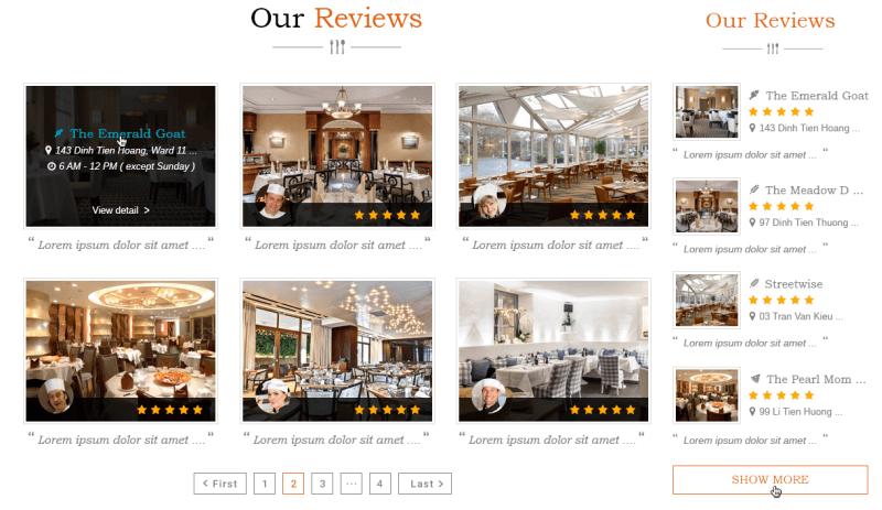 blog reviews - DiningEngine