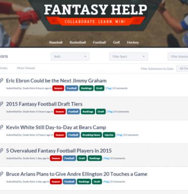 fantasy help