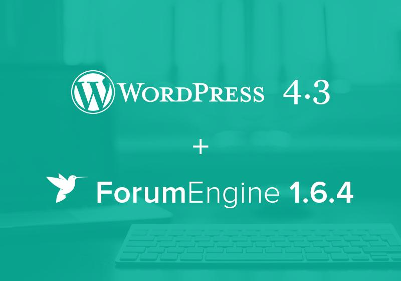 ForumEngine 1.6.4