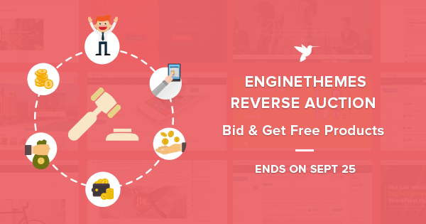 EngineThemes Reverse Auction