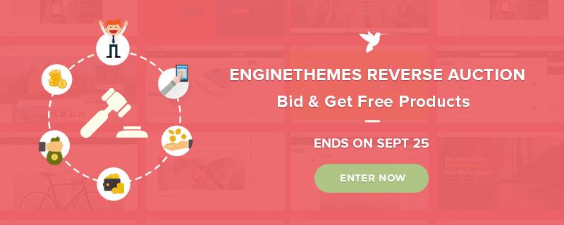 EngineThemes Reverse Auction