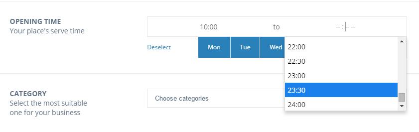 directoryengine update 1.9.5 opening time