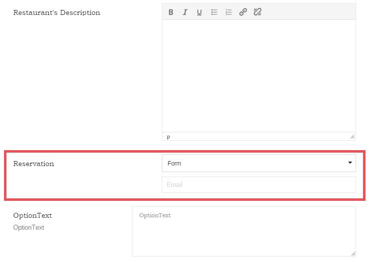 diningengine update 1.2.2 reservation email