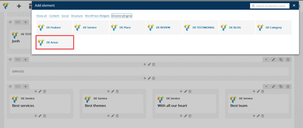 directoryengine update 2.0.1 add area block 3