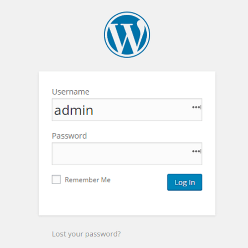 security tips for wordpress websites - Do not use admin username