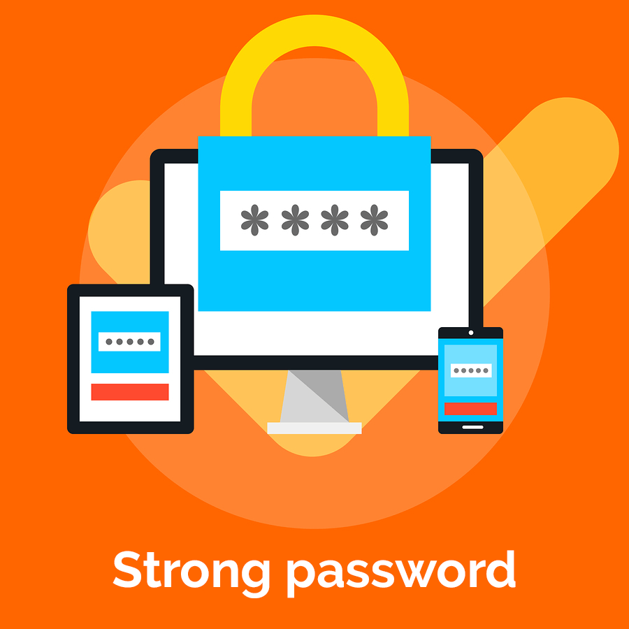 security tips for wordpress websites - Use strong password