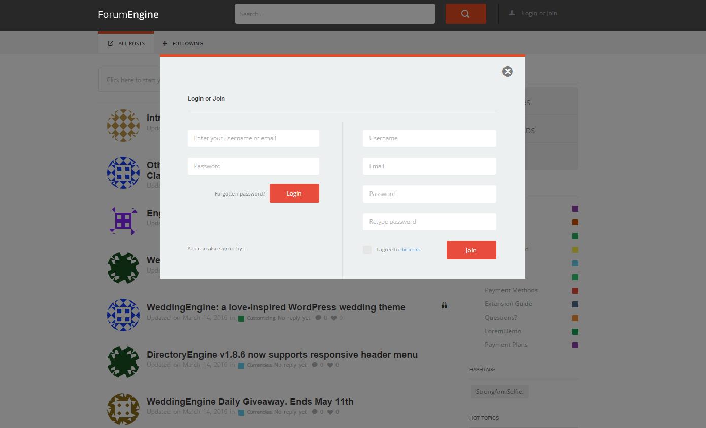 forumengine 1.6.6 - auto login