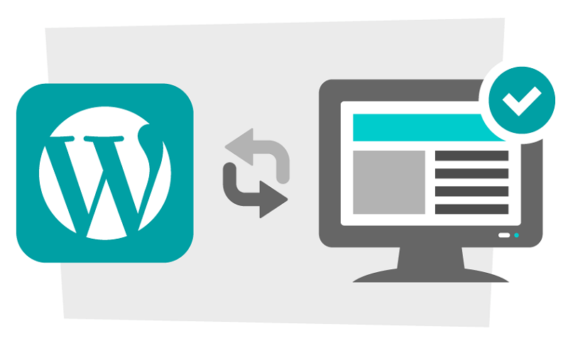 security tips for wordpress websites - Update WP, themes. plugins