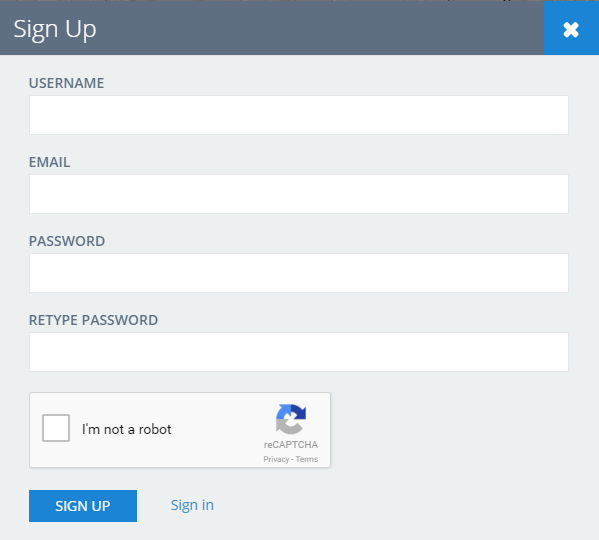 DirectoryEngine update 2.1.1 - reCAPTCHA in signup page