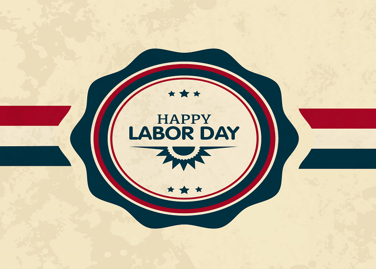 Announcement: Labor Day Holiday