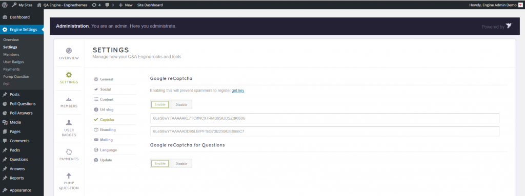 QAE 2.0.5 - captcha back-end