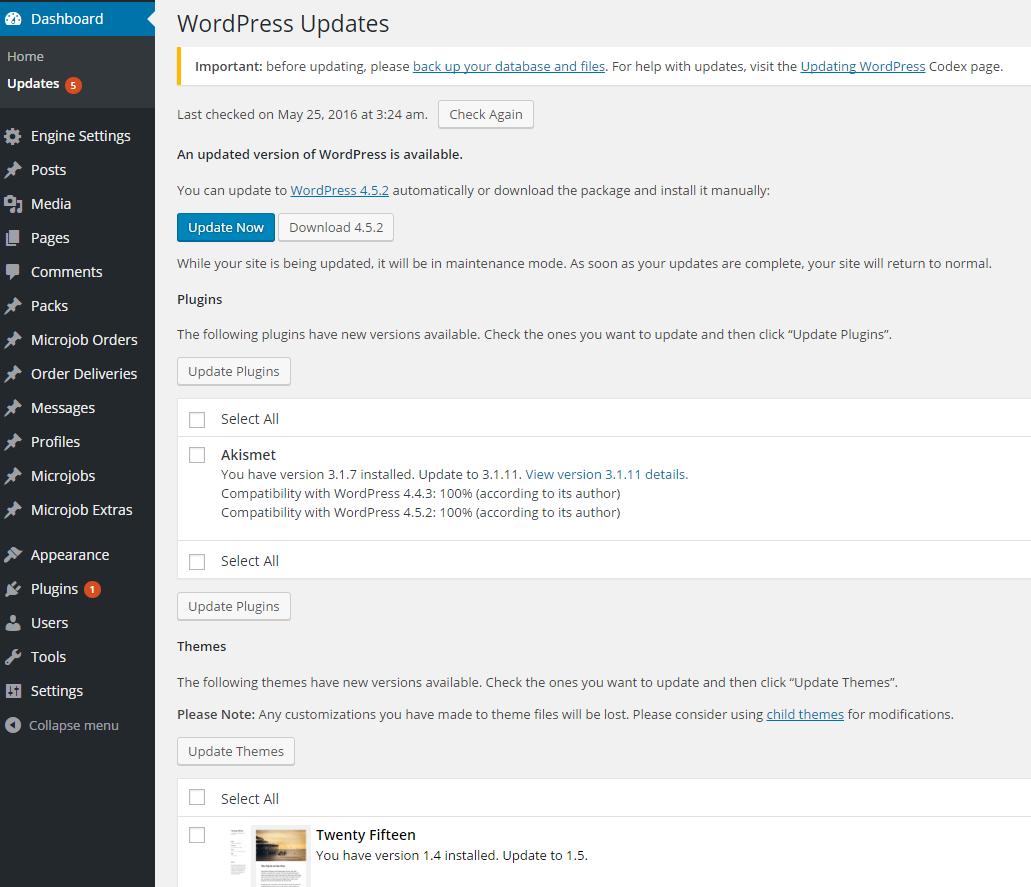 latest version WordPress