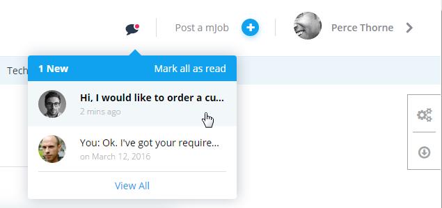 microjobengine - custom order