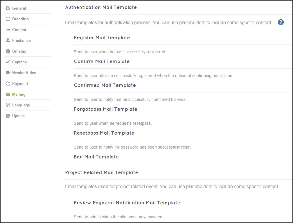 freelance template