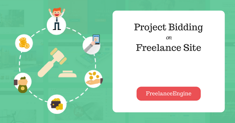 how freelancer bids work