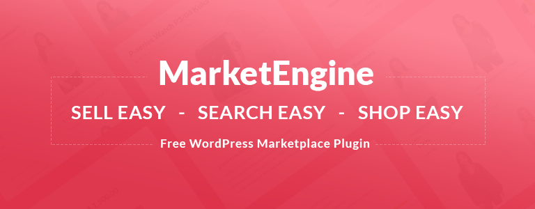 MarketEngine Free Plugin - Your Online Marketplace Builder