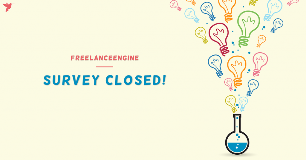 freelanceengine survey closed