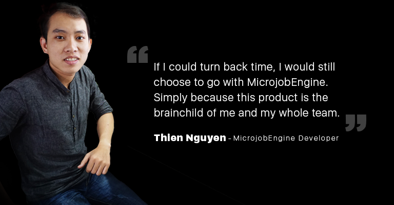 Meet our MicrojobEngine guys: Thien N.