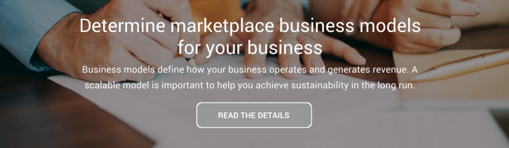 Determine marketplace business models for your business