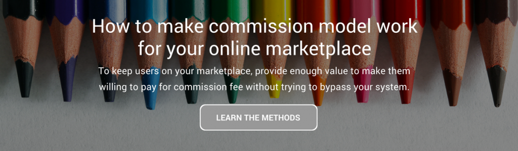 HOW TO MAKE COMMISSION MODEL WORK FOR YOUR ONLINE MARKETPLACE
